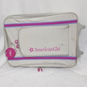 American Girl GOTY Traval Rolling Suitcase Bag